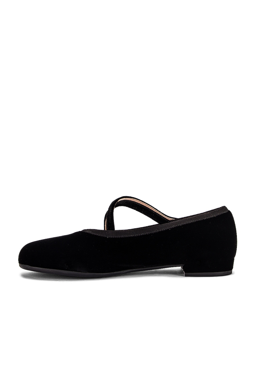 Image 5 of Miu Miu Ballerina Flats in Black