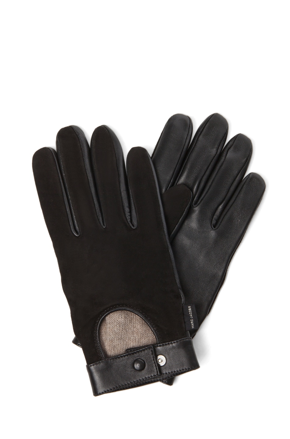 Image 1 of Marc Jacobs Gloves in Black