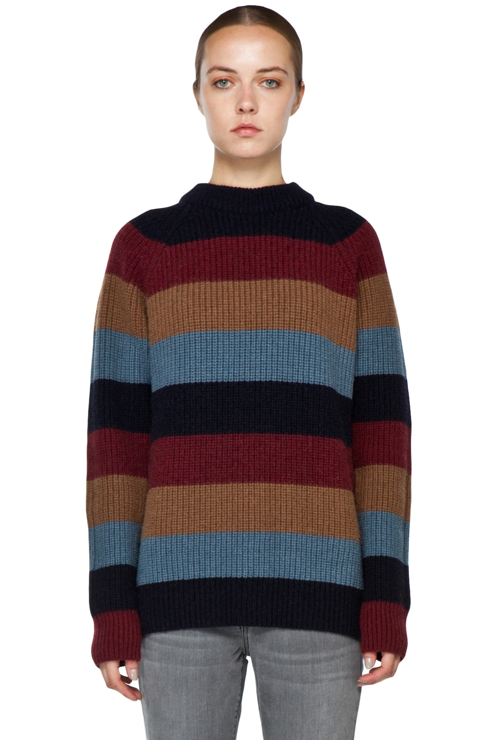 Image 1 of Marc Jacobs Striped Sweater in Multi