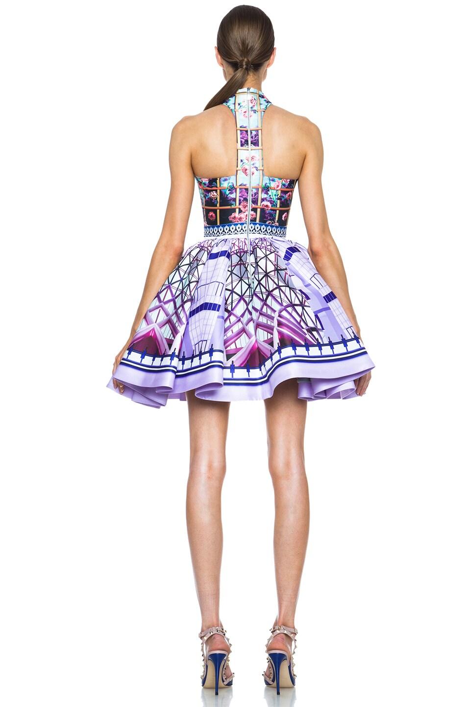 Image 4 of Mary Katrantzou Trinkolo Poly Dress in Foli Rose Runner
