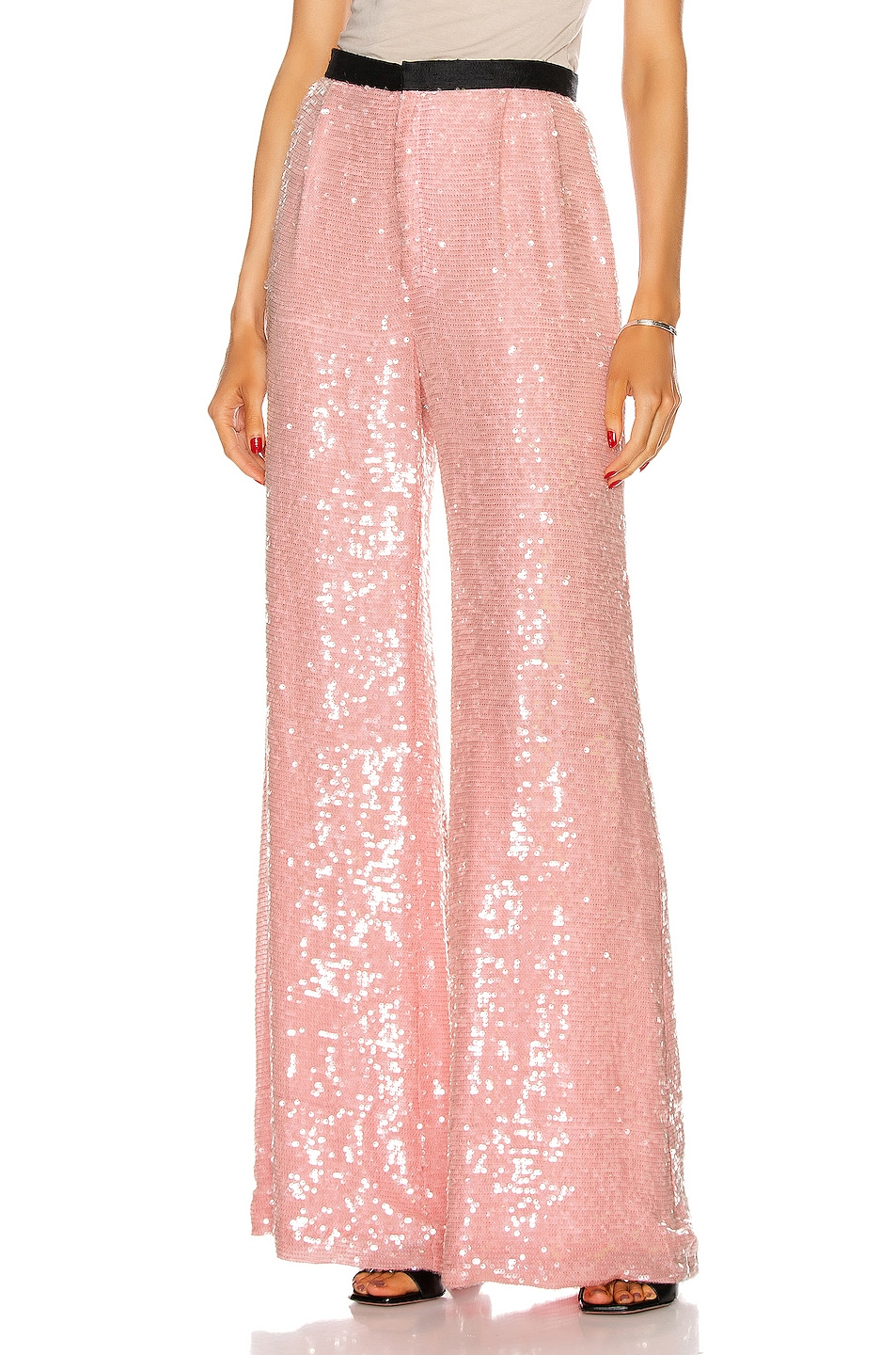 Image 1 of Markarian Chloris Sequin Pant in Pink