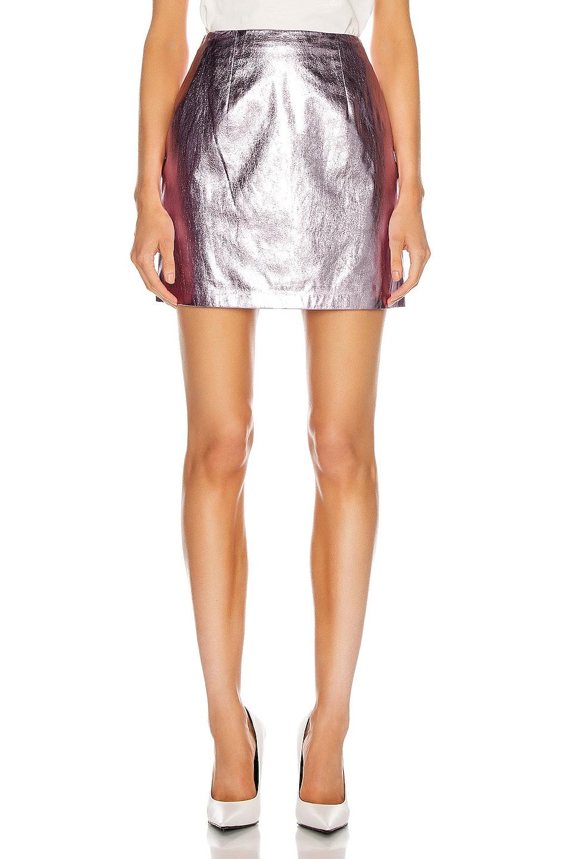 Image 1 of Markarian Madeline Mini Skirt in Lavender