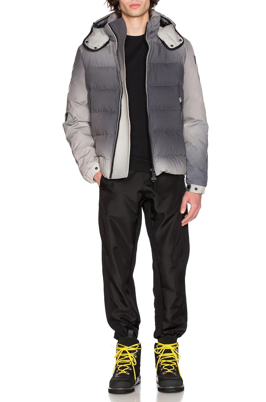 7a617d1d1 Moncler x Off White Enclos Jacket in Grey | FWRD