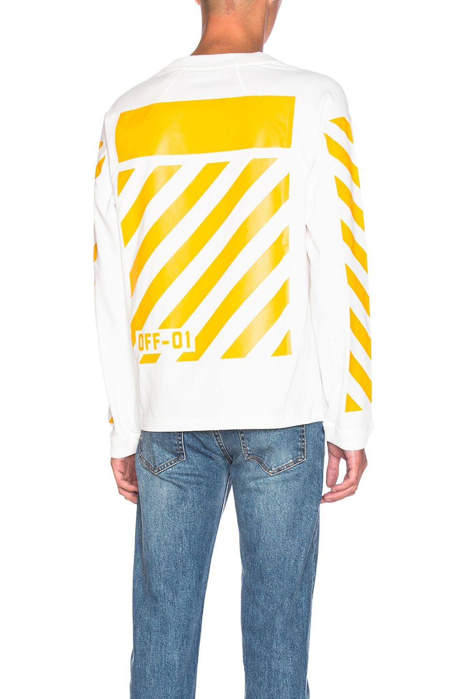 b757f590f Moncler x Off White Long Sleeve Tee in White