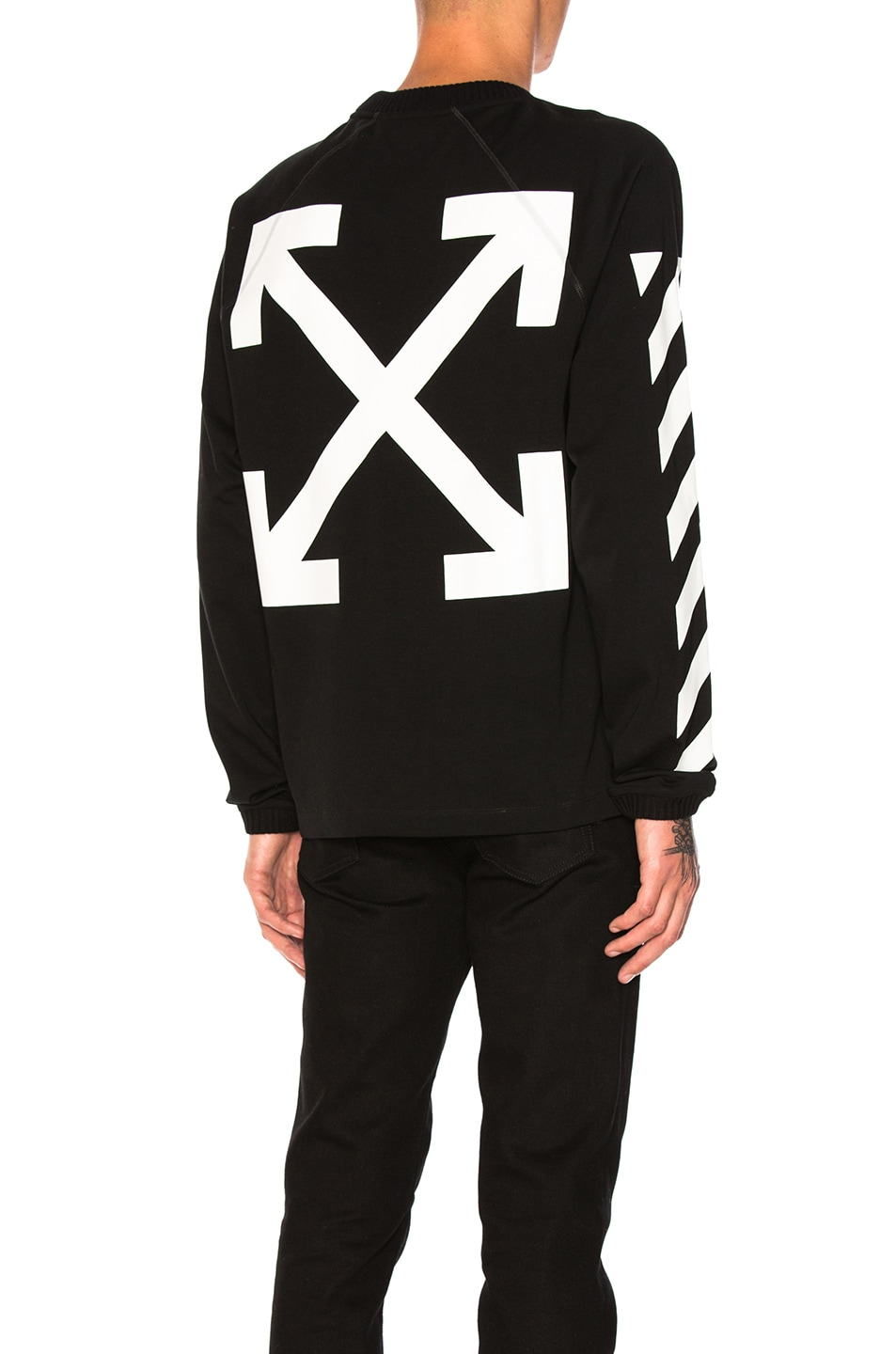877702bc84a50 Image 1 of Moncler x Off White Long Sleeve Shirt in Black