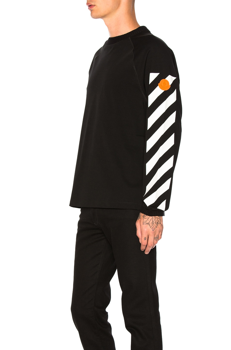 Image 4 of Moncler x Off White Long Sleeve Shirt in Black