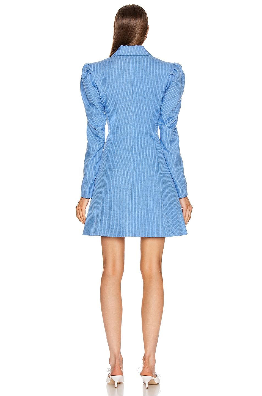Image 3 of Maggie Marilyn Leap Of Faith Blazer Dress in Sky Blue