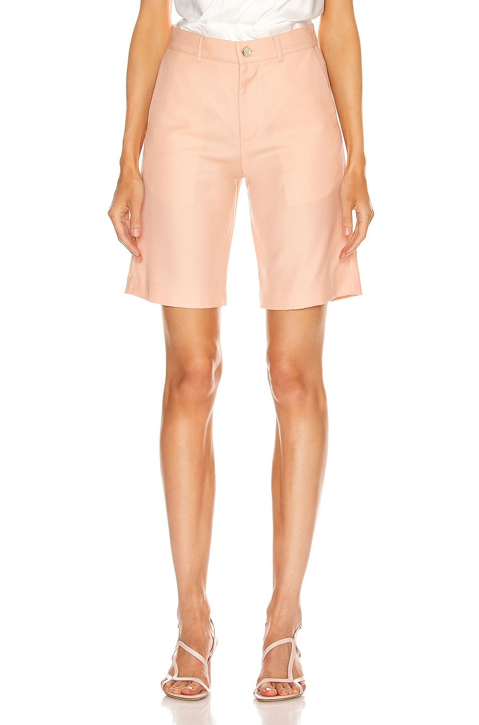 Image 1 of Maggie Marilyn Feeling Peachy Shorts in Peach