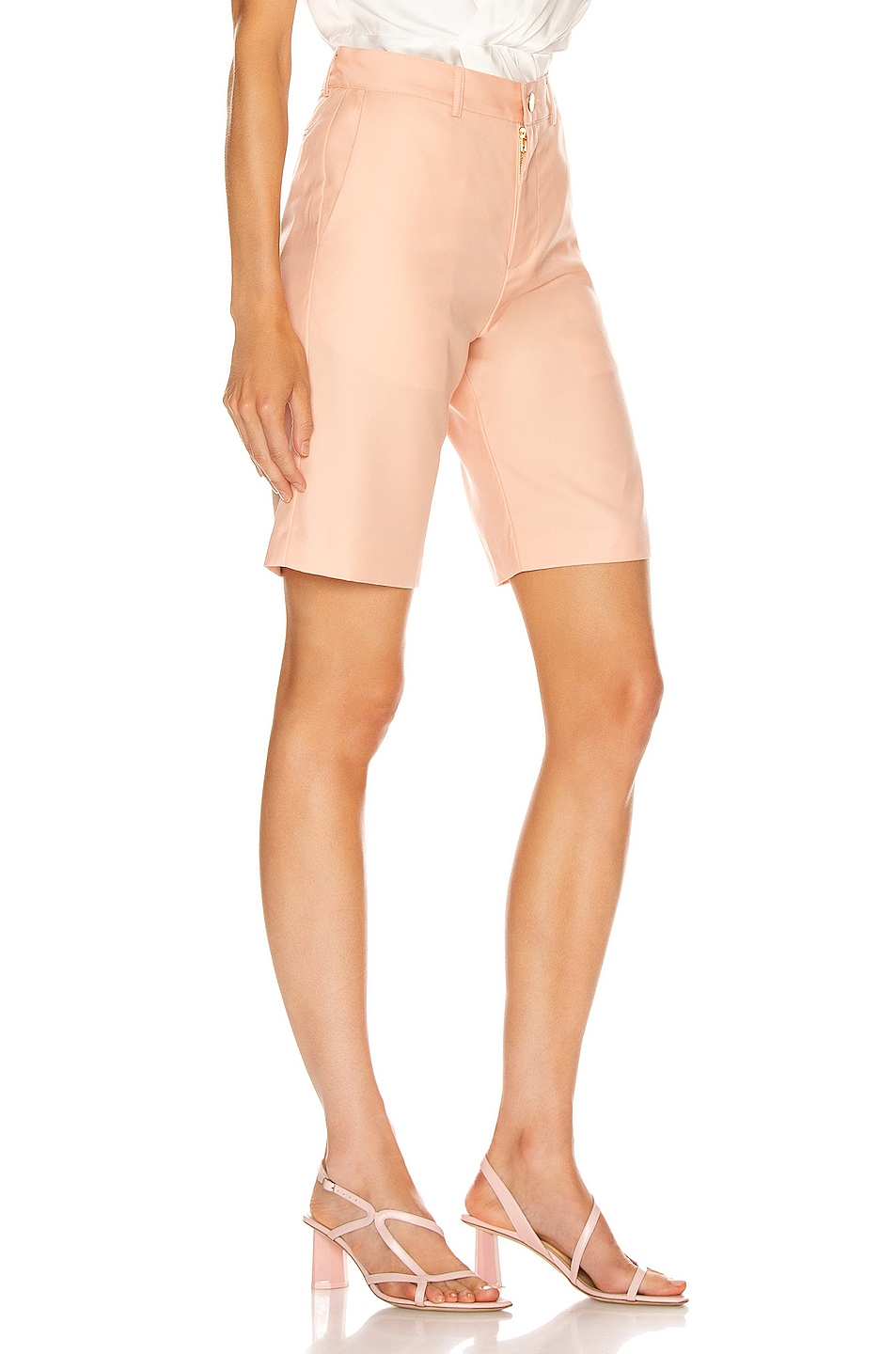 Image 2 of Maggie Marilyn Feeling Peachy Shorts in Peach