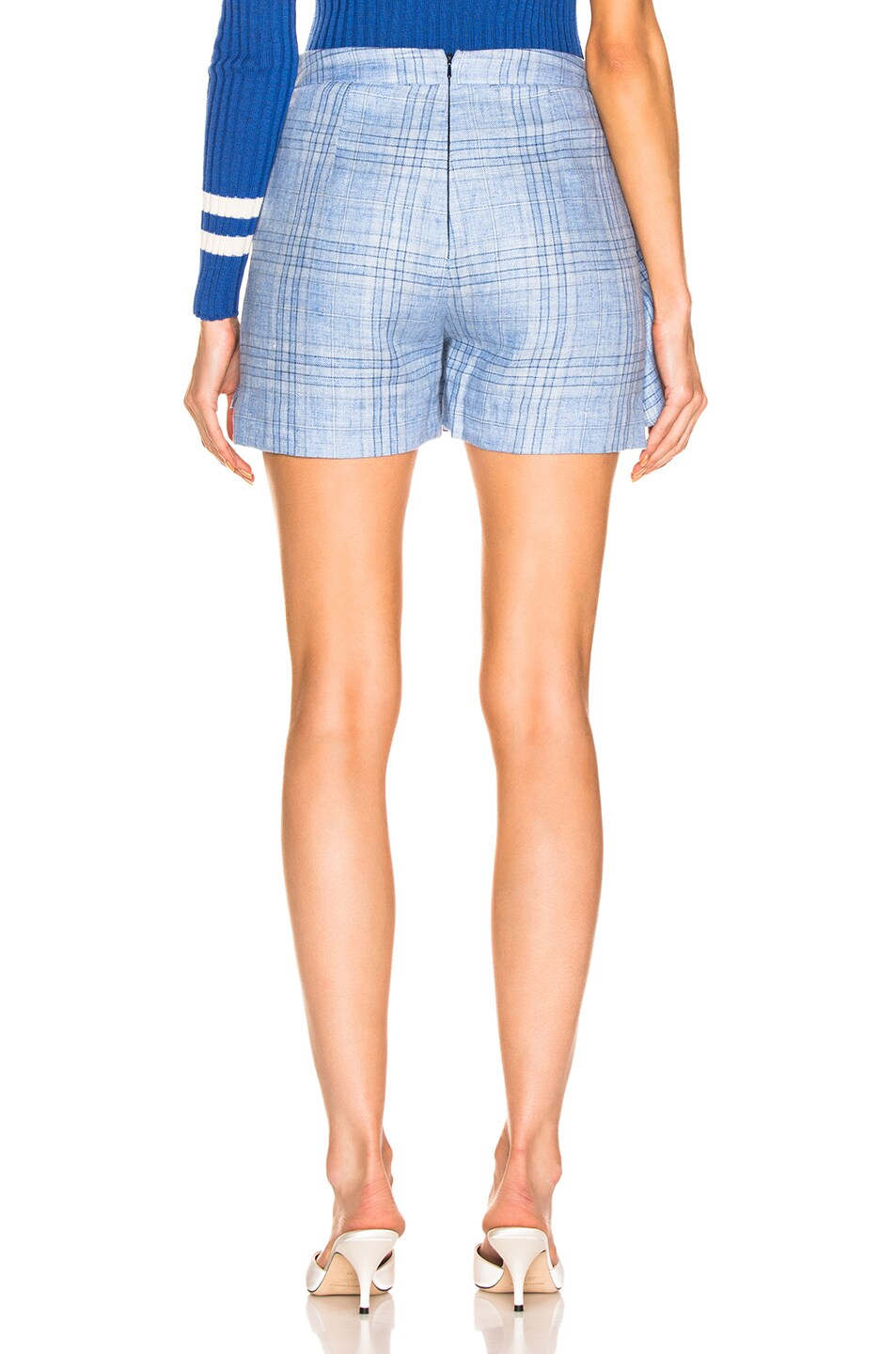 Image 3 of Maggie Marilyn Say You'll Never Let me Go Blue Skort in Baby Blue Check