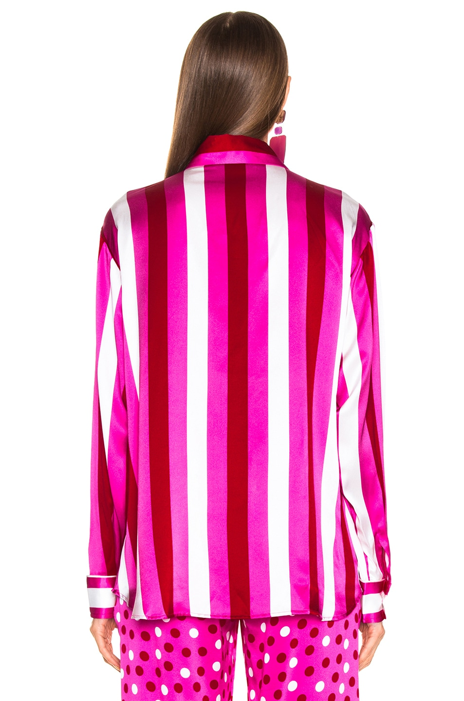 Image 3 of Maggie Marilyn Hand In My Hand Top in Pink, White & Red Stripe