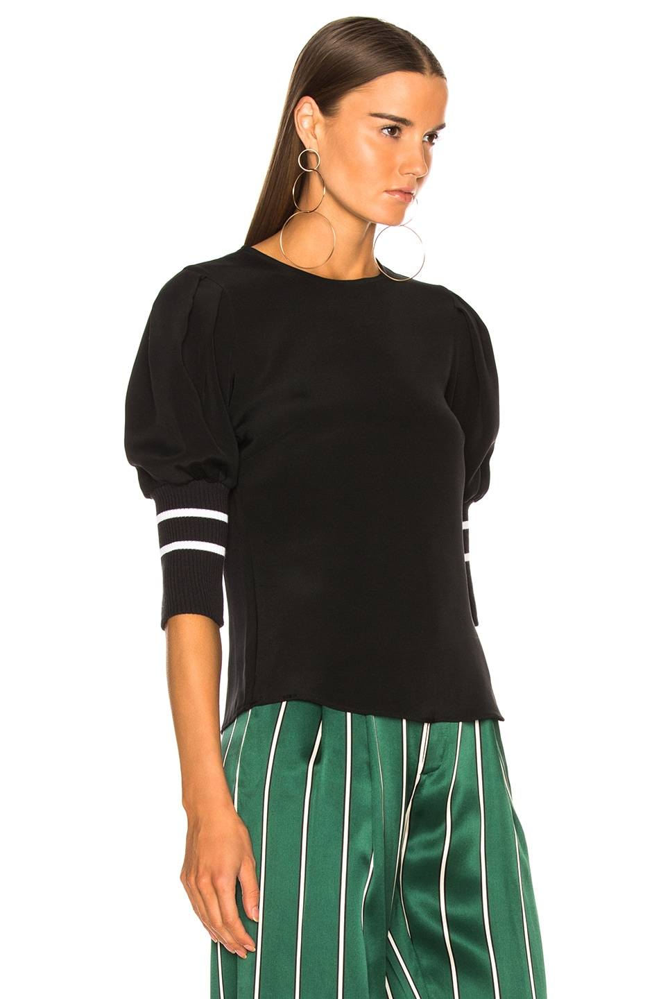 MAGGIE MARILYN Cottons MAGGIE MARILYN DON'T LOSE YOURSELF TOP IN BLACK