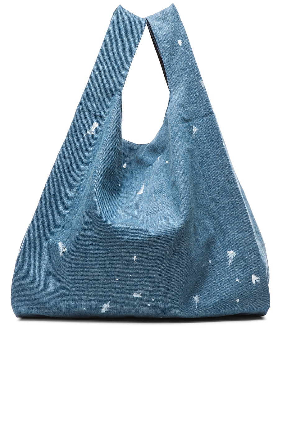 Image 1 of MM6 Maison Margiela Denim Tote in Indigo