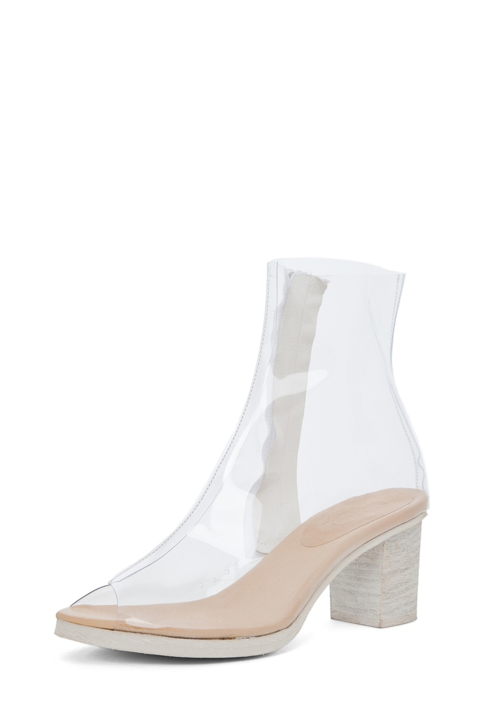 Image 2 of MM6 Maison Margiela PVC Bootie in Cristall
