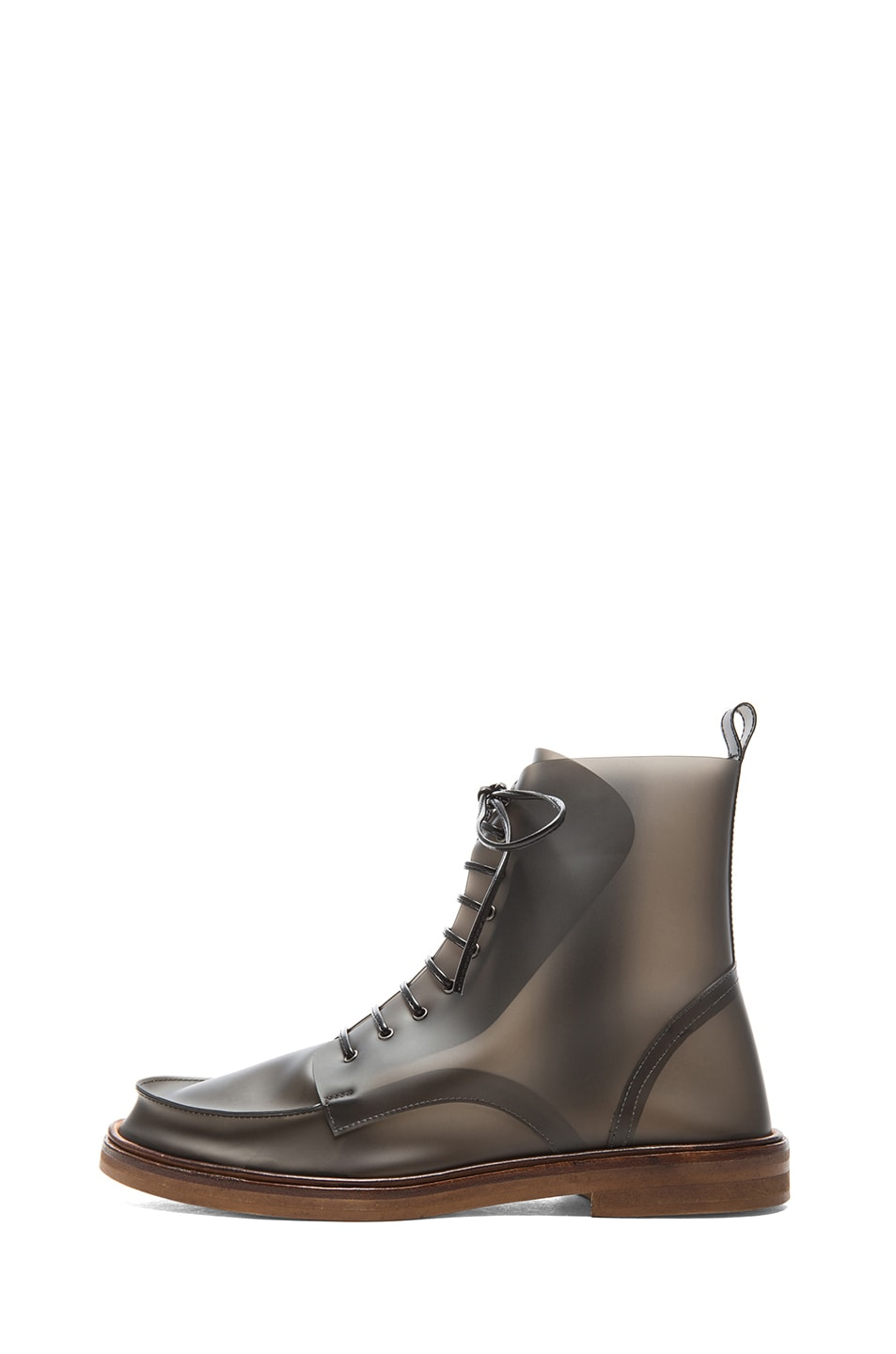 Image 1 of MM6 Maison Margiela Rain Boots in Black