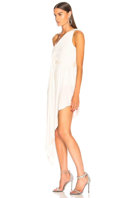 Image 3 of Michelle Mason for FWRD Bodysuit Dress in Ivory