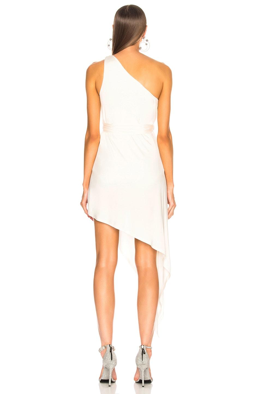 Image 4 of Michelle Mason for FWRD Bodysuit Dress in Ivory