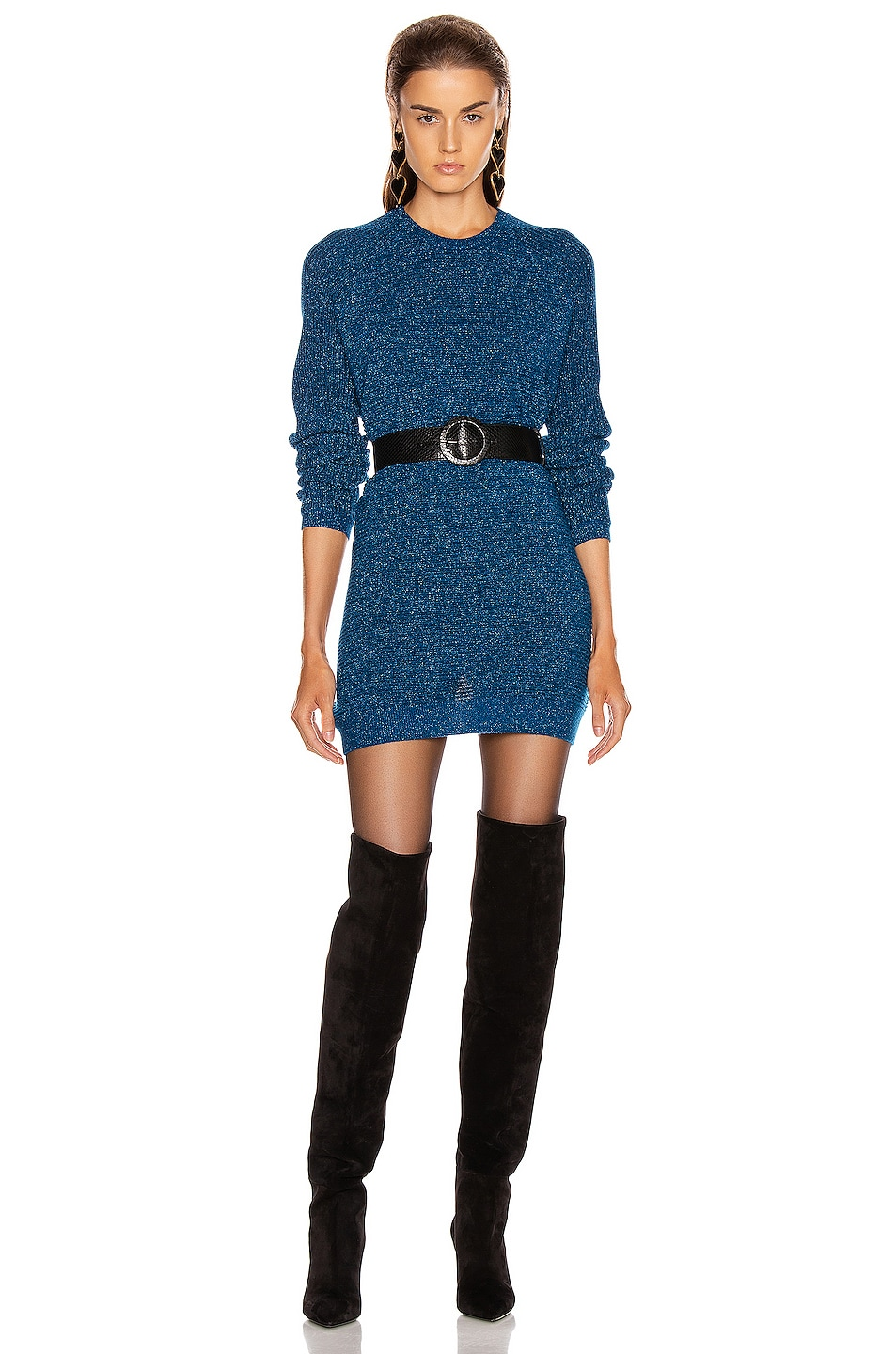 Michelle Mason Dresses Sweater Mini Dress