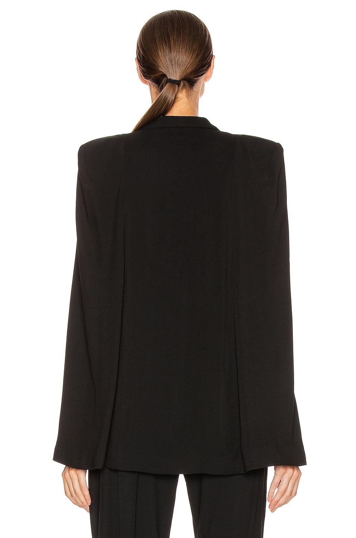 Image 3 of Michelle Mason Cape Blazer in Black