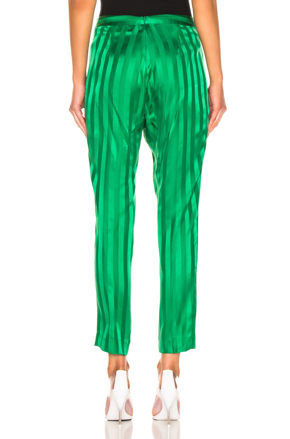 Image 3 of Michelle Mason Wrap Pant in Green