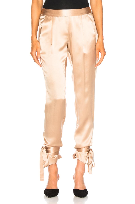 Image 1 of Michelle Mason Ninja Pant in Champagne