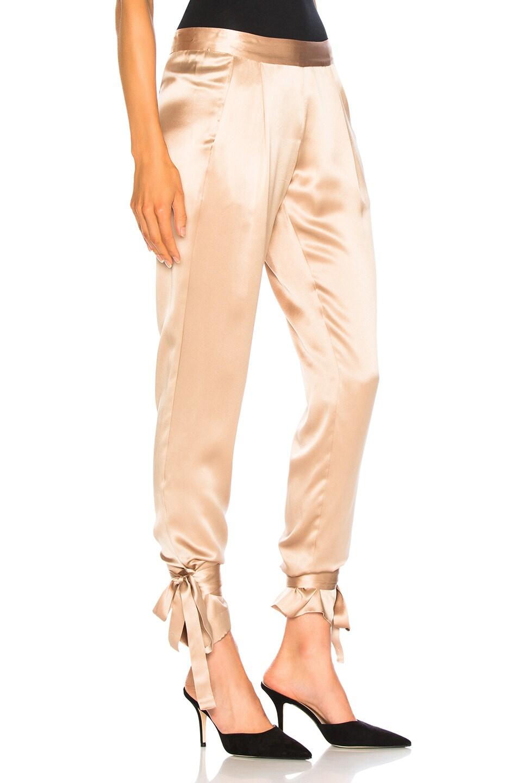 Image 2 of Michelle Mason Ninja Pant in Champagne