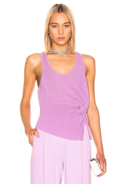 Image 1 of Michelle Mason Twist Tank in Lilac