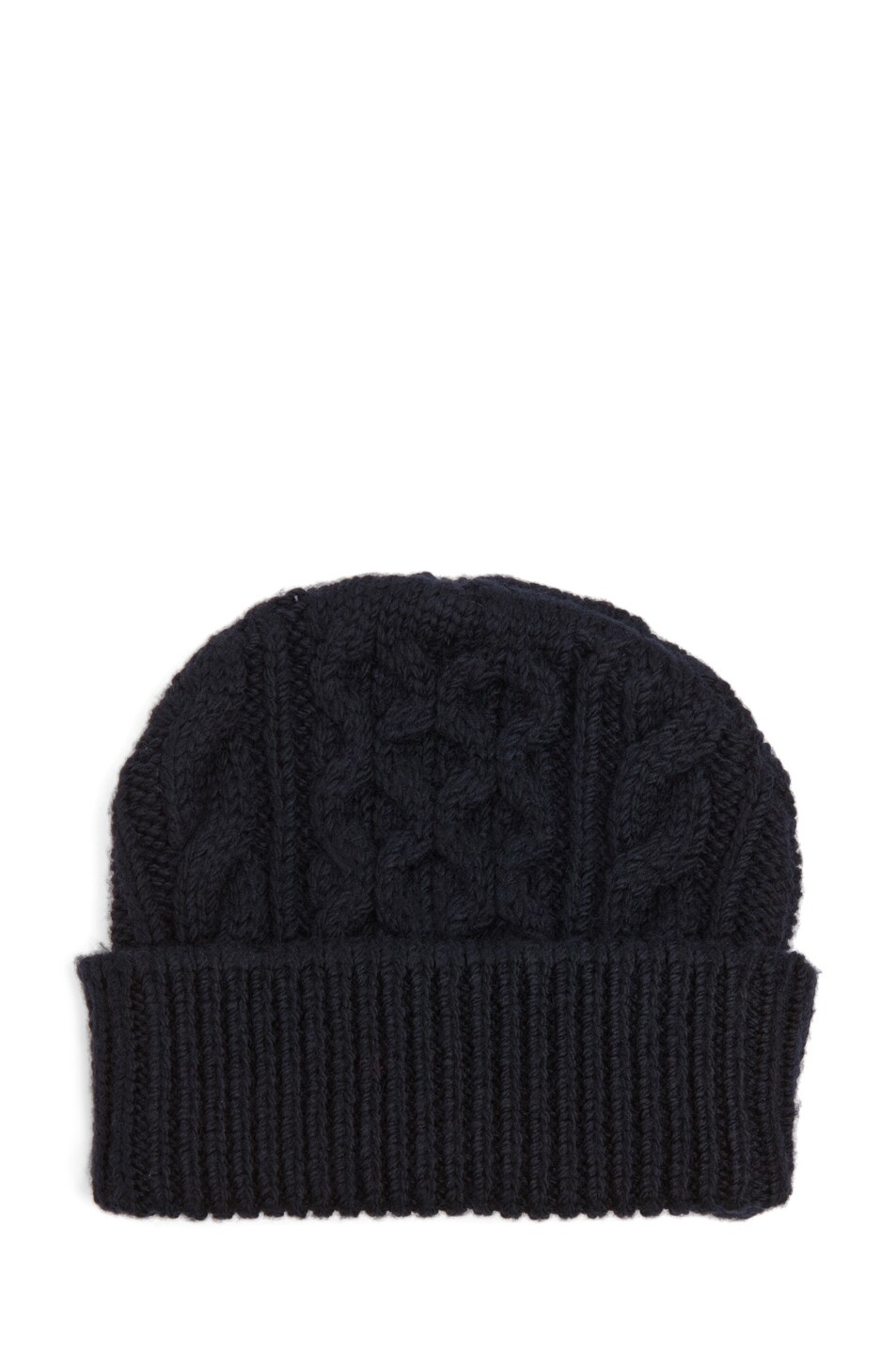 bd10eb7d9c0 Image 1 of Maison Margiela Cable Knit Beanie in Black