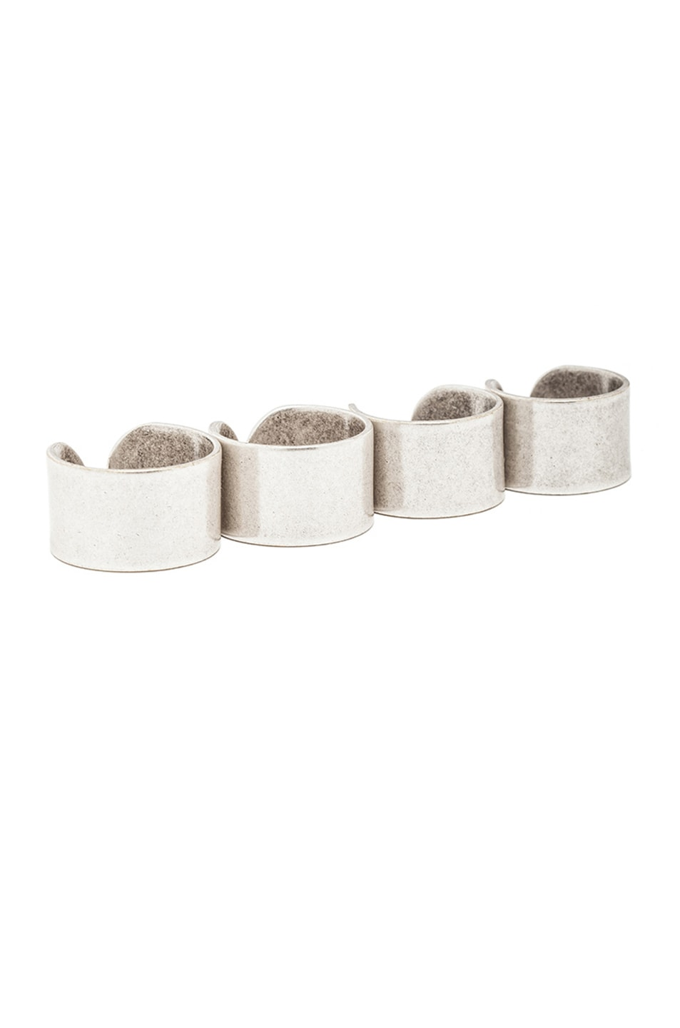 Image 1 of Maison Margiela Ring Set in Silver