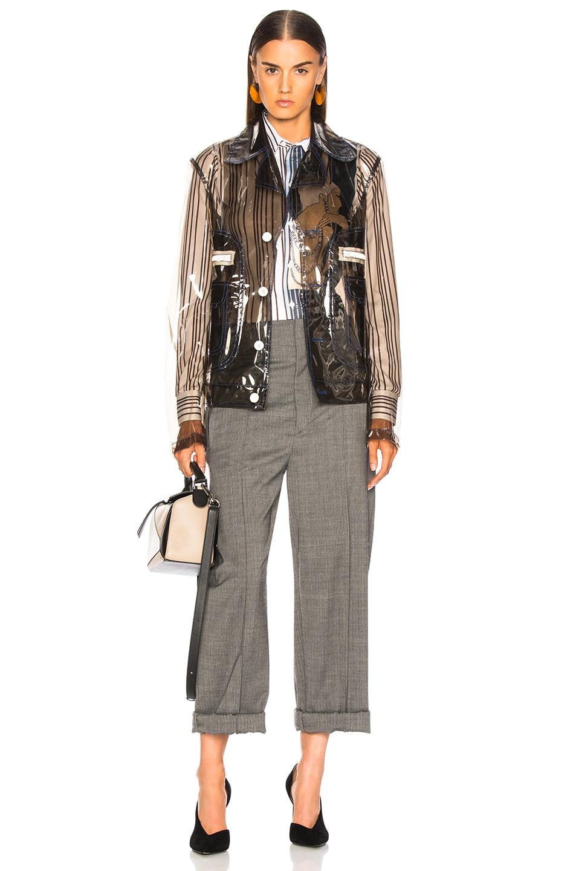 Image 5 of Maison Margiela Transparent Jacket in Black