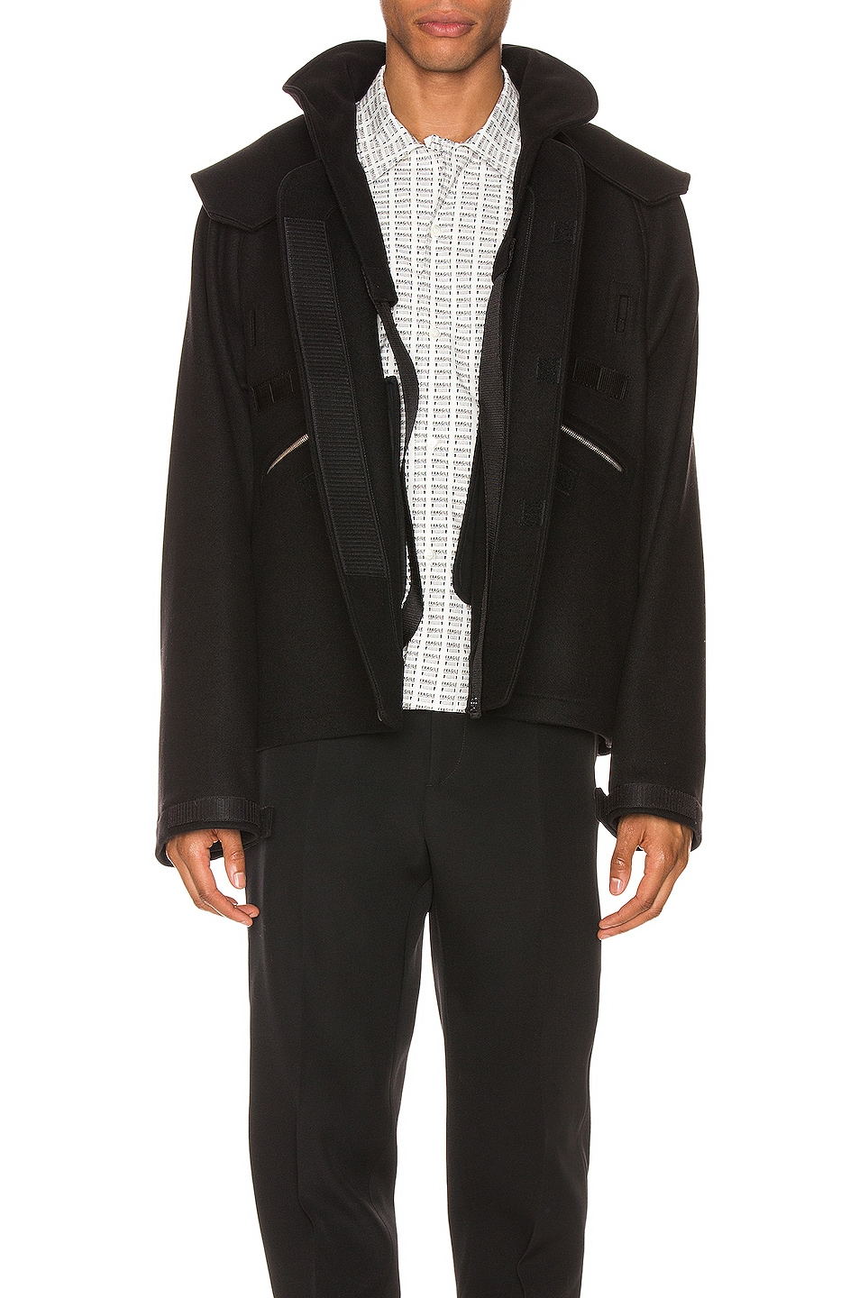 Image 1 of Maison Margiela Zip Jacket in Black