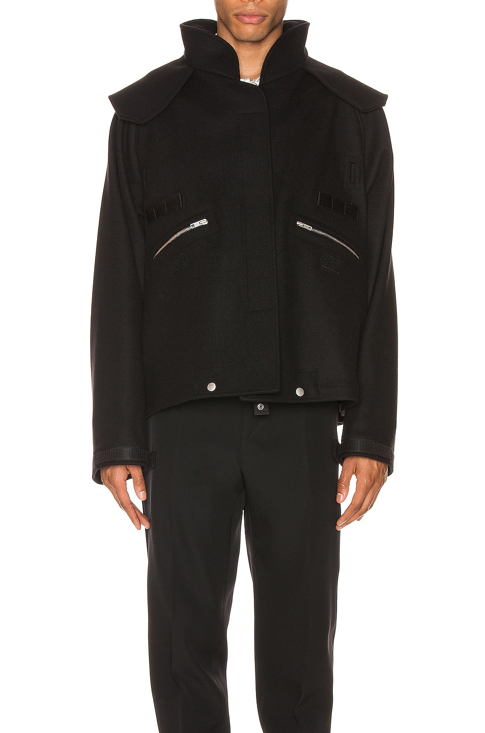 Image 2 of Maison Margiela Zip Jacket in Black