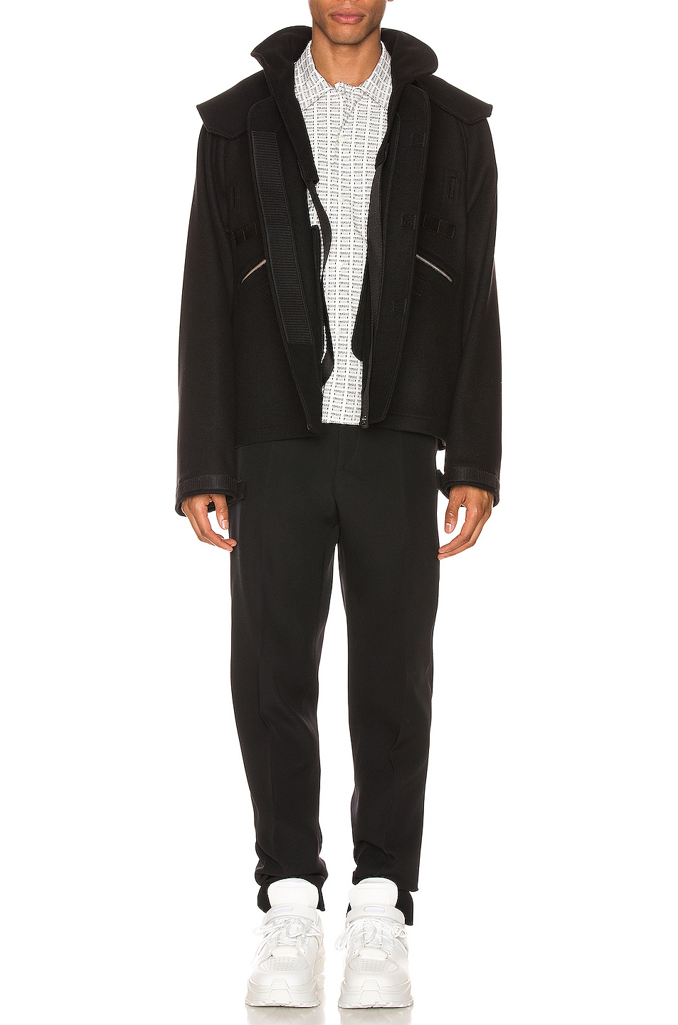 Image 6 of Maison Margiela Zip Jacket in Black