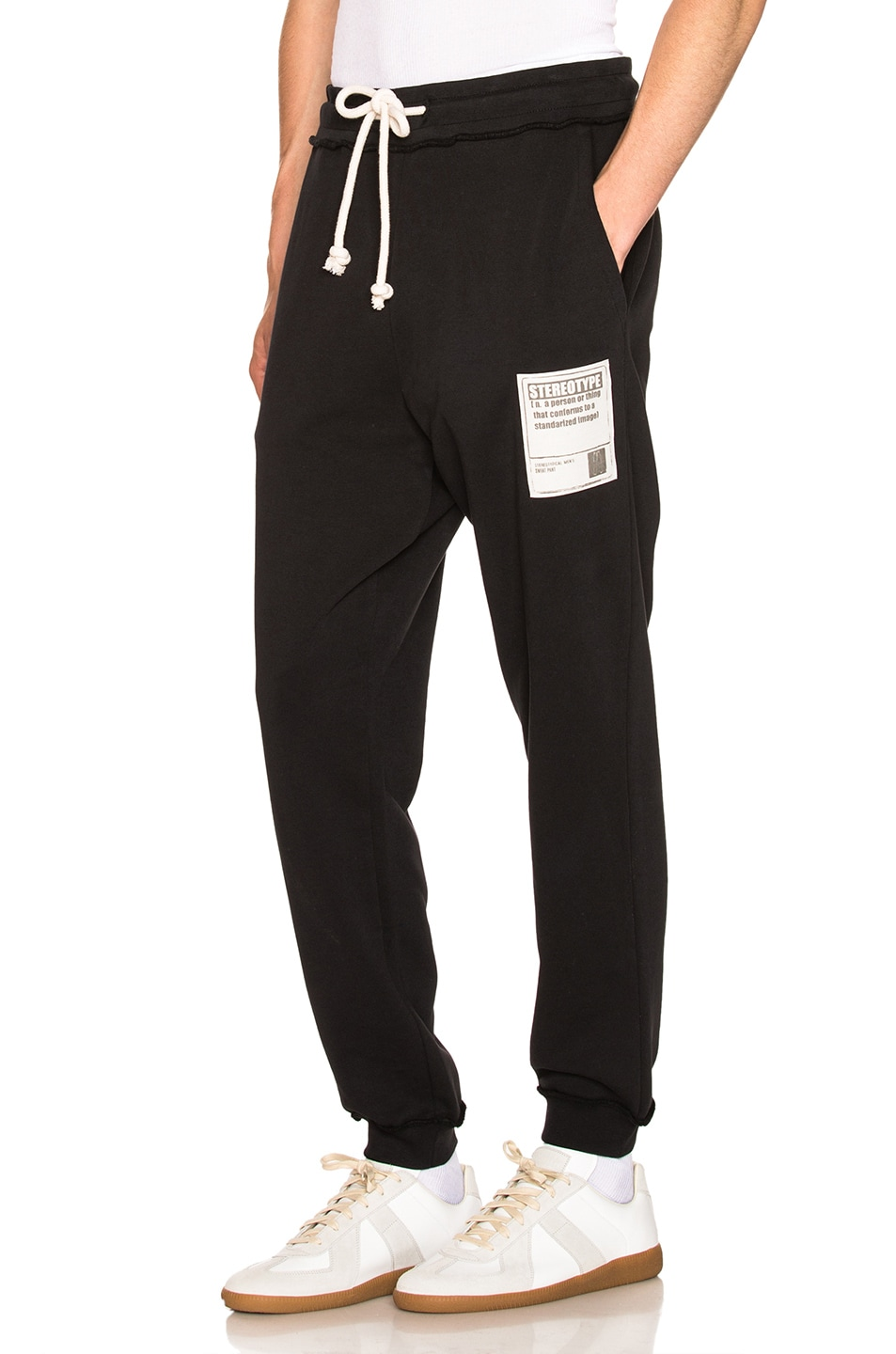 Image 1 of Maison Margiela Sweatpants in Black