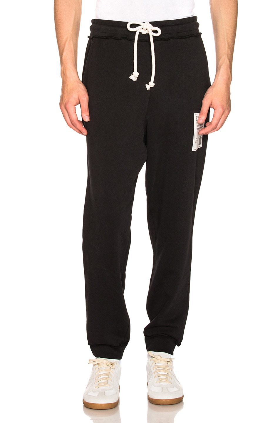 Image 2 of Maison Margiela Sweatpants in Black