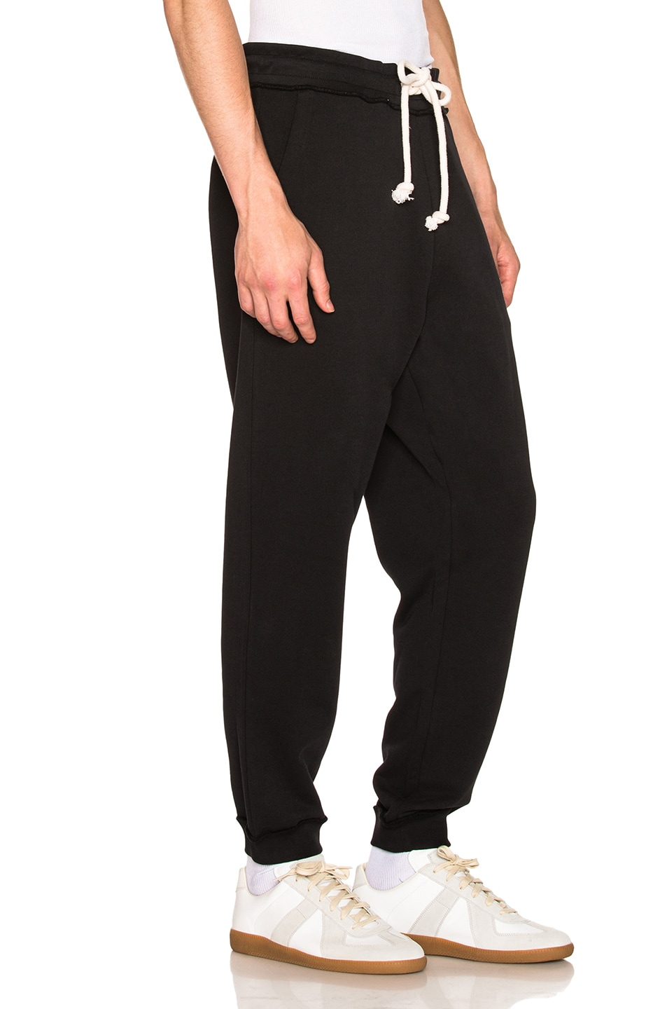 Image 3 of Maison Margiela Sweatpants in Black