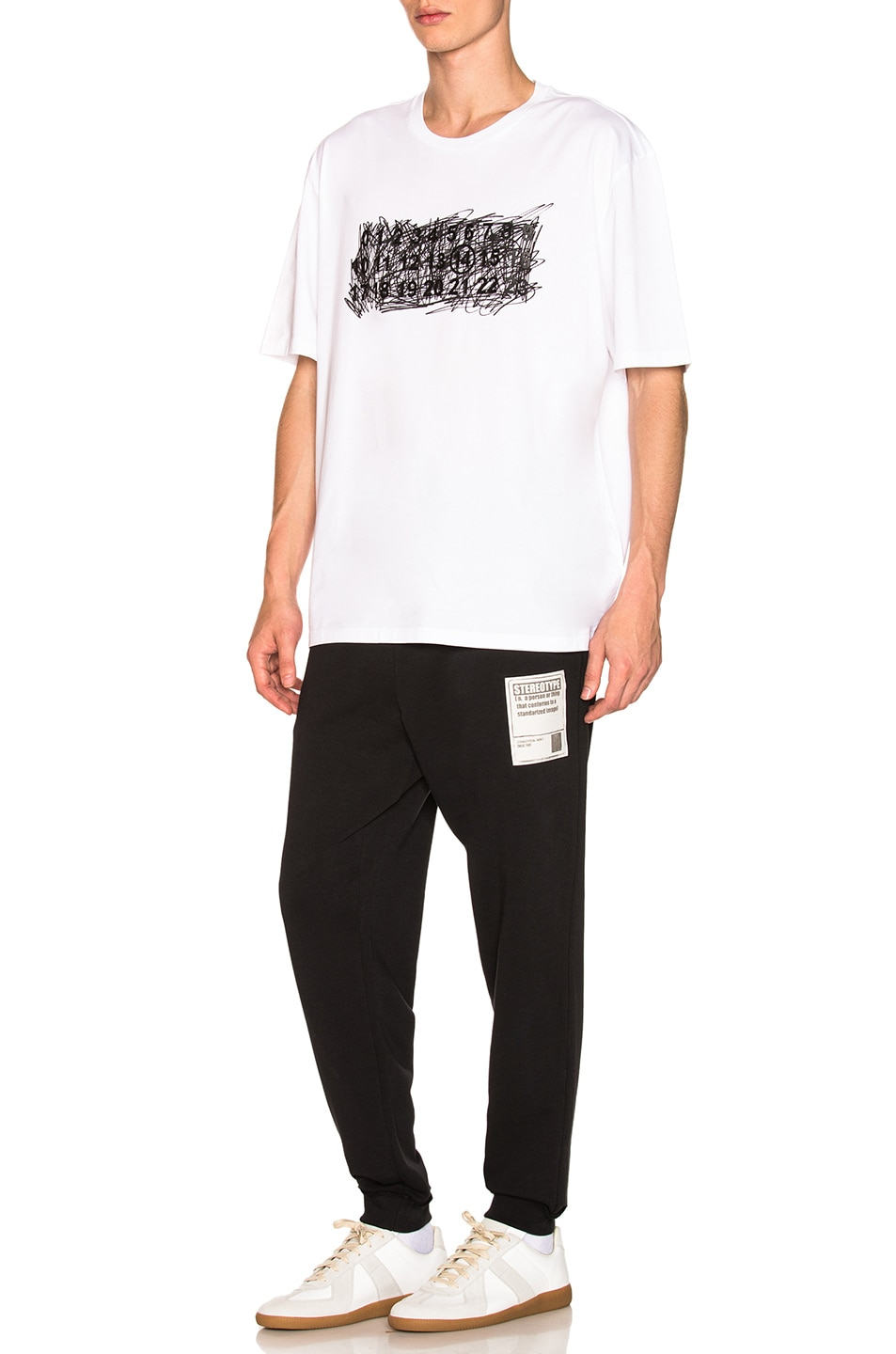 Image 5 of Maison Margiela Sweatpants in Black