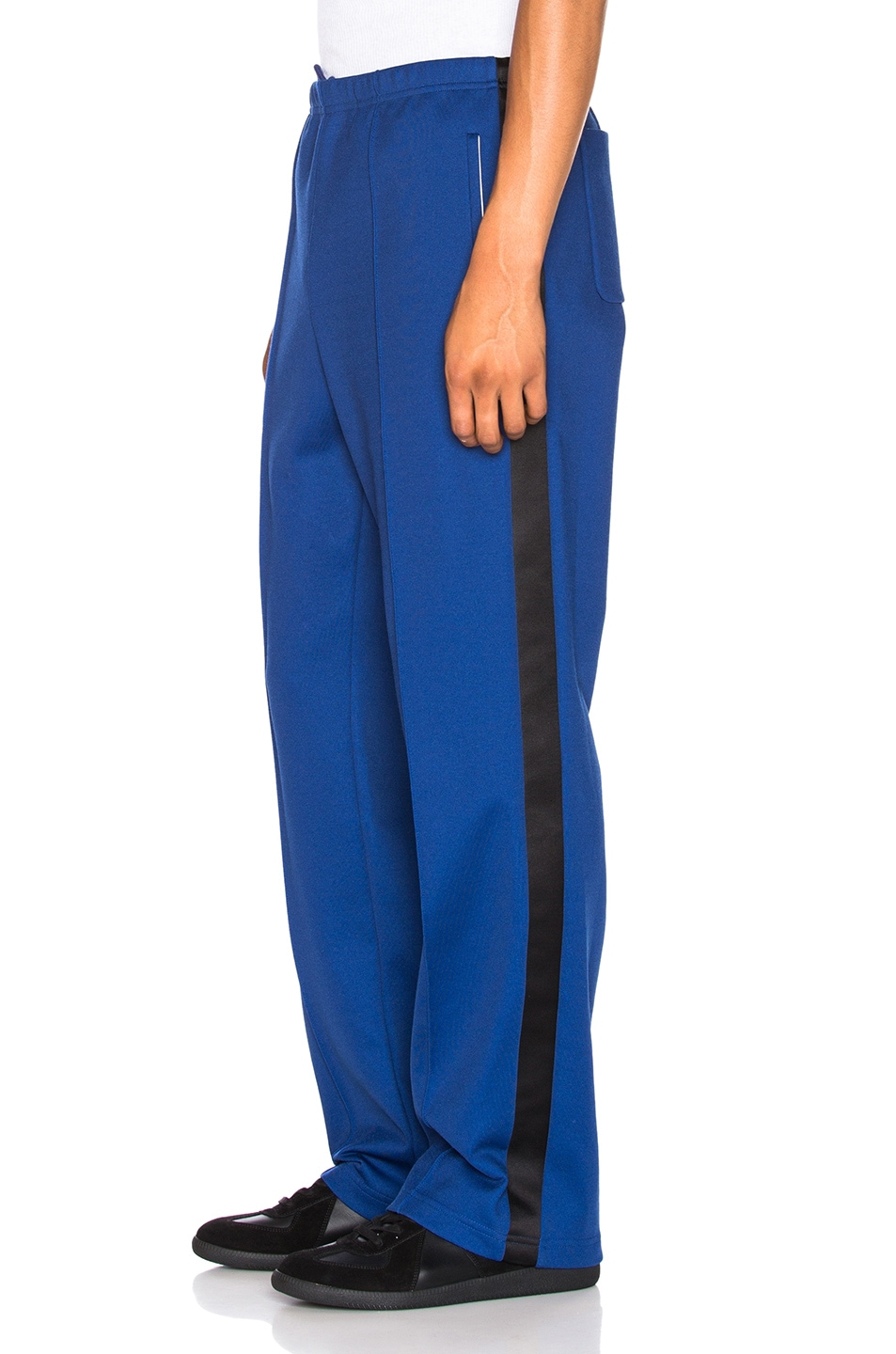 Image 1 of Maison Margiela Polyester Pants in Ink Blue