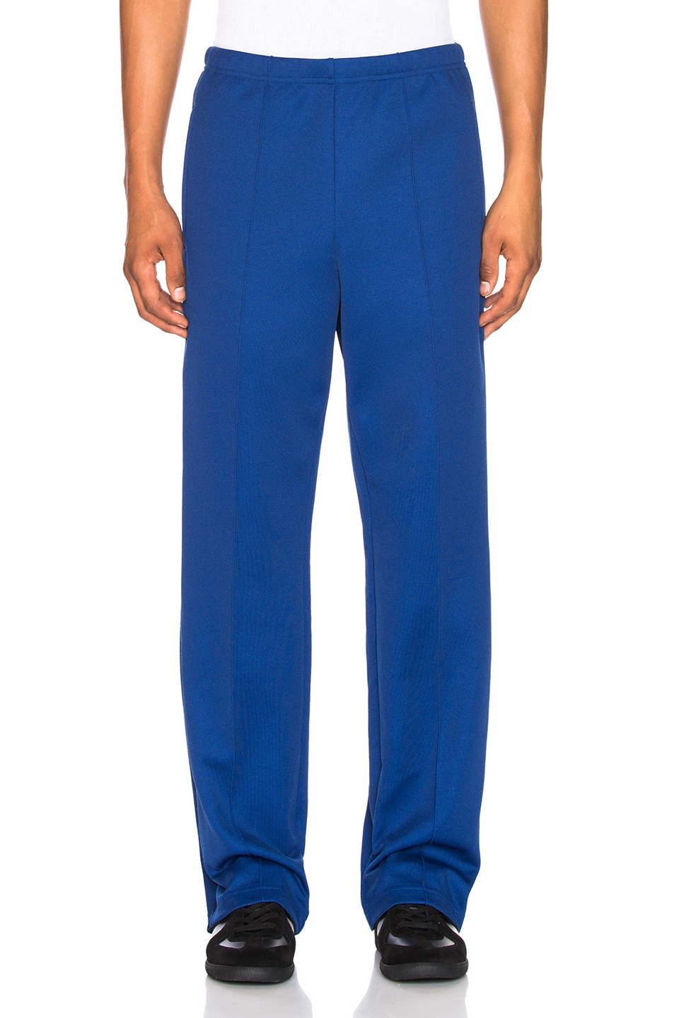 Image 2 of Maison Margiela Polyester Pants in Ink Blue
