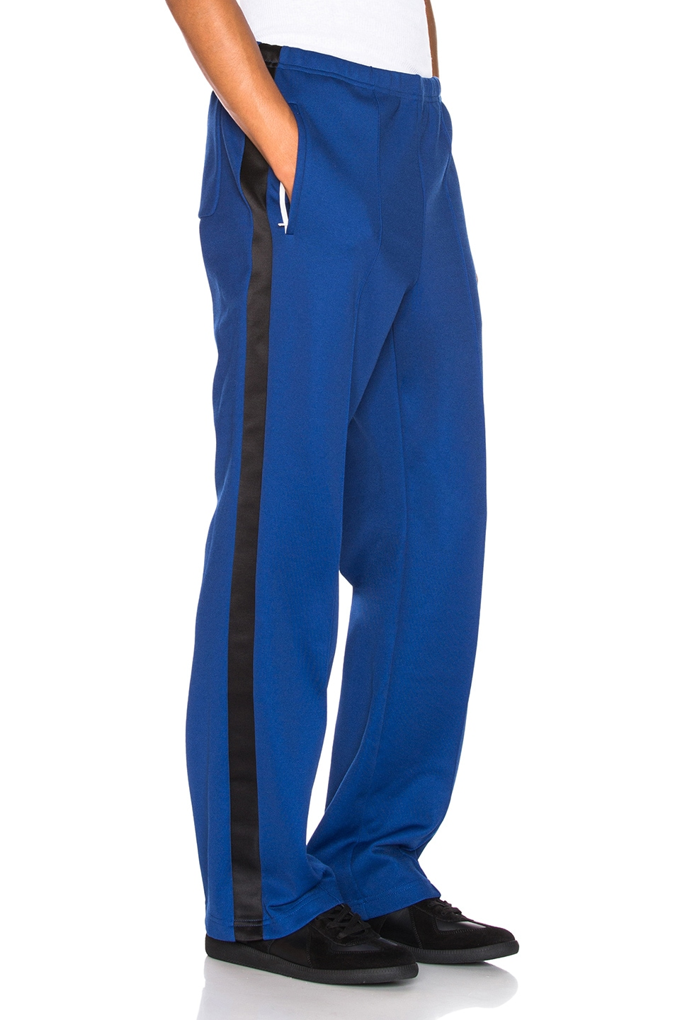 Image 3 of Maison Margiela Polyester Pants in Ink Blue