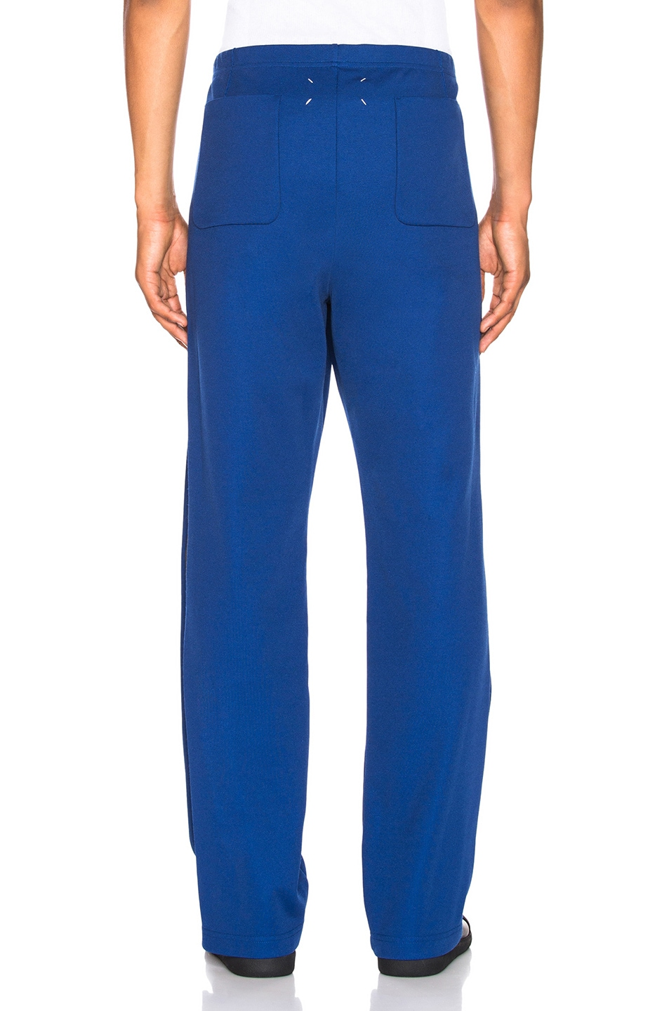 Image 4 of Maison Margiela Polyester Pants in Ink Blue