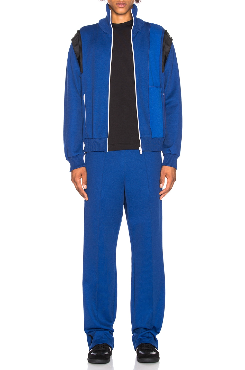 Image 5 of Maison Margiela Polyester Pants in Ink Blue