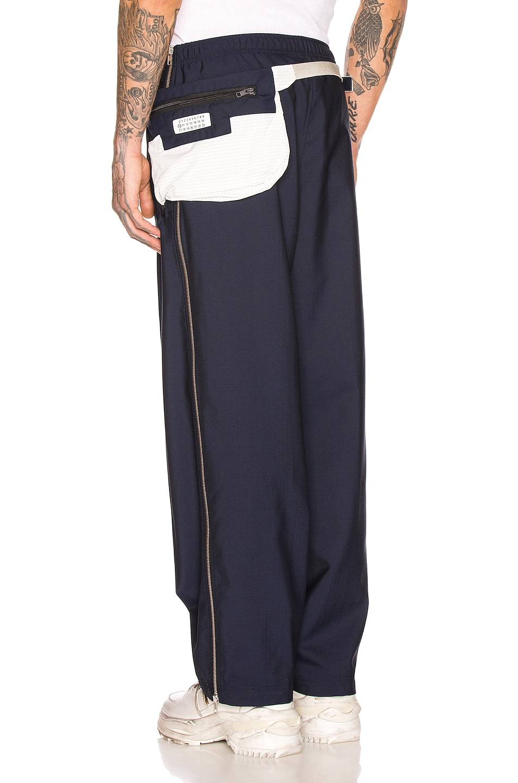 Image 1 of Maison Margiela Waistbag Trouser in Navy