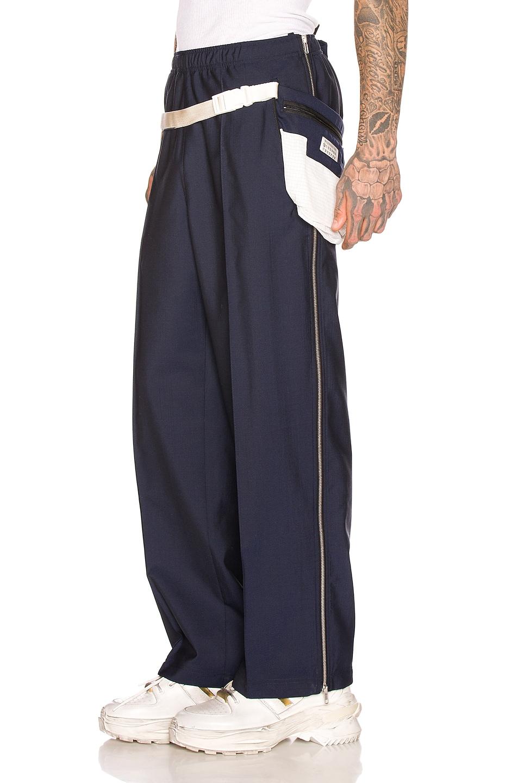Image 4 of Maison Margiela Waistbag Trouser in Navy