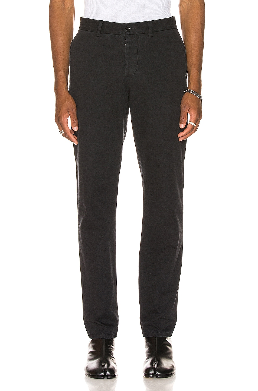 Image 1 of Maison Margiela Chino Pants in Black
