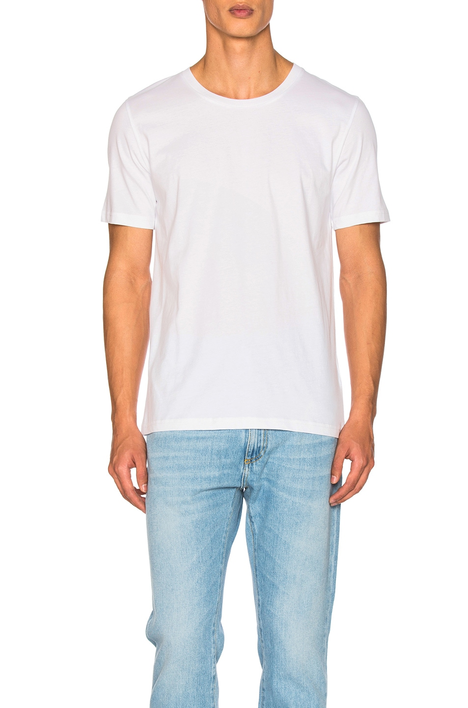 Image 1 of Maison Margiela Garment Dyed Basic Tee in White