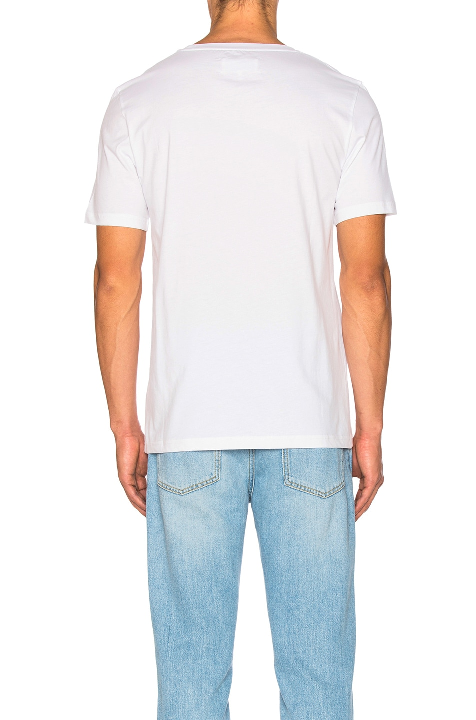 Image 4 of Maison Margiela Garment Dyed Basic Tee in White