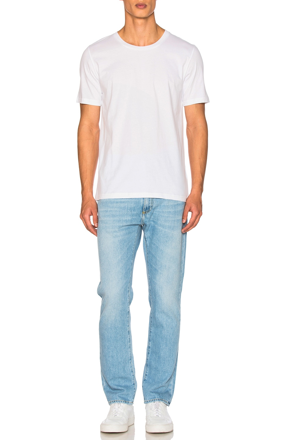 Image 5 of Maison Margiela Garment Dyed Basic Tee in White