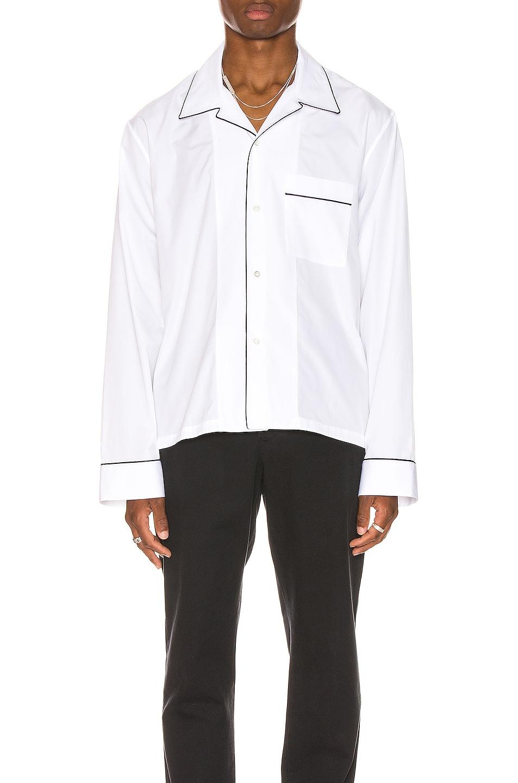 Image 1 of Maison Margiela Long Sleeve Shirt in White
