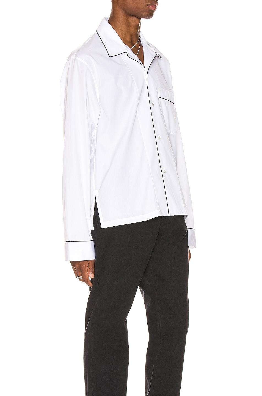 Image 2 of Maison Margiela Long Sleeve Shirt in White